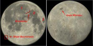 Притяжение Земли и Луны